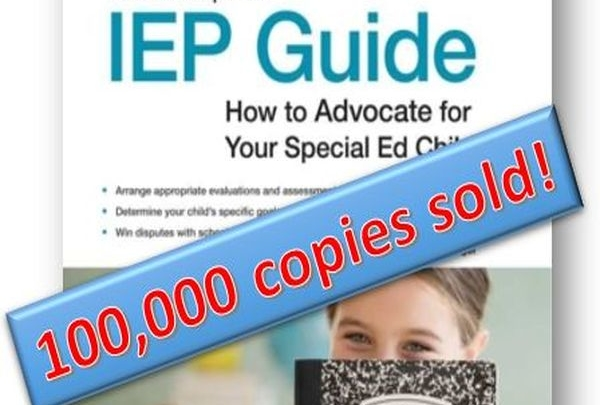 """The Complete IEP Guide"" recently exceeded 100,000 copies sold!"